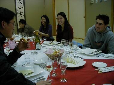 ★Suzume English Conversation School♪2004年3月「フレンチ・パーティ」♪