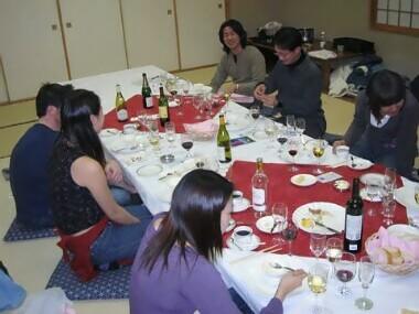 2004年、釣りの後には高級ワインを持ち込んでのフレンチ三昧だぜぇ!!★Suzume English Conversation School♪あん♪アン♪